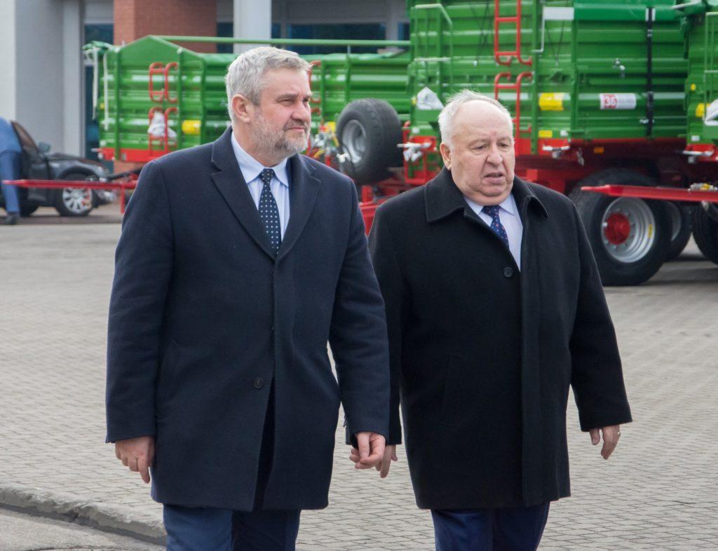Minister Rolnictwa w Pronar